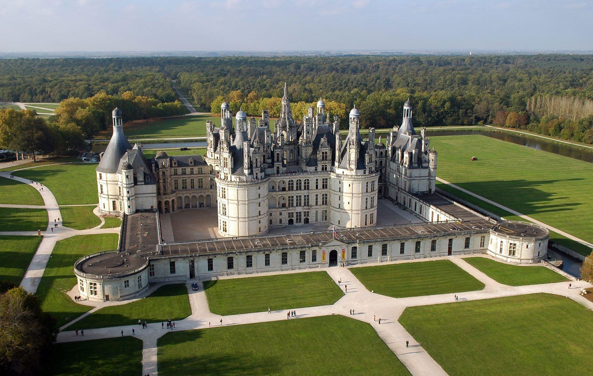 châteaux de la loire chambord